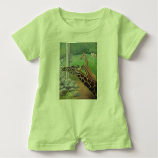 AT THE ZOO 2 Baby Romper Baby Bodysuit