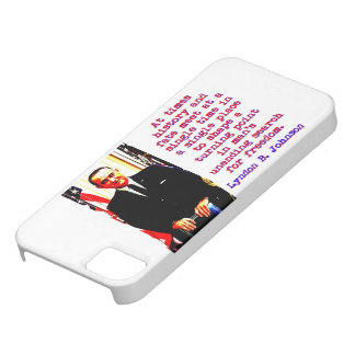 At Times History And Fate - Lyndon Johnson Case For The iPhone 5