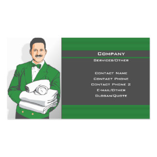 At Your Service Pack Of Standard Business Cards