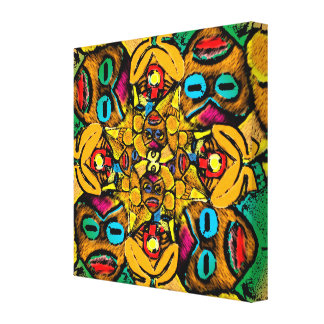 Atabeira III - Wrapped Canvas Print