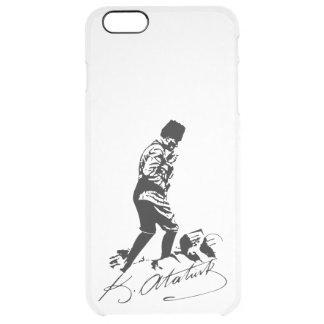 Ataturk Clear iPhone 6 Plus Case
