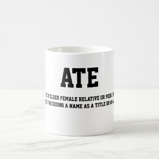 ATE Coffee Cup