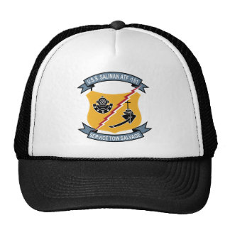 ATF-161 USS Salinan Military Patch Tug Insignia Hats