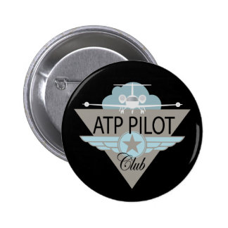 ATF Pilot Club 6 Cm Round Badge