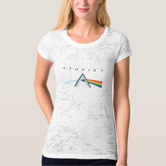 Atheism—A prism for seeing the light (Light shirt) Tees