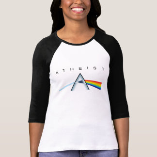 Atheism—A prism for seeing the light (Light shirt) T Shirts