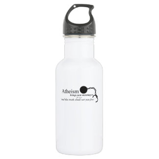 Atheism brings new meaning 532 ml water bottle