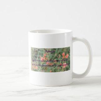 Atheism Defined Coffee Mug