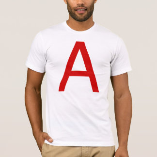 Atheism in Helvetica (upper case) T-Shirt