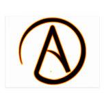 Atheism Symbol Post Card