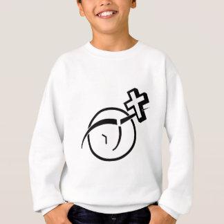 Atheism v Cross Sweatshirt