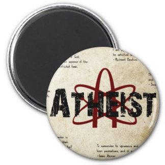 Atheist 6 Cm Round Magnet
