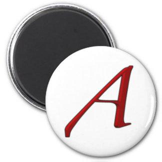 Atheist A Fridge magnet