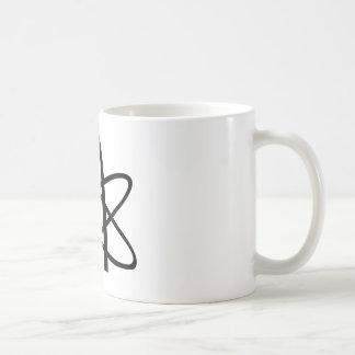 Atheist Atom Basic White Mug