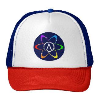 Atheist Atom Symbol Cap