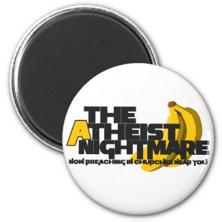 Atheist Banana Magnet