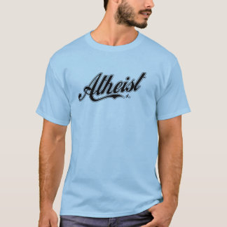 Atheist baseball team t-shirt