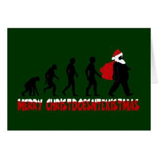 Atheist Christmas Greeting Card