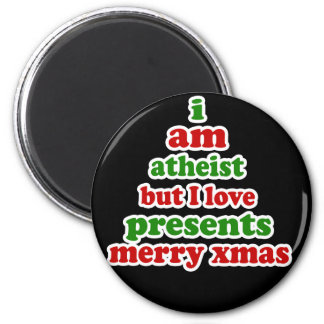 Atheist Christmas Magnet