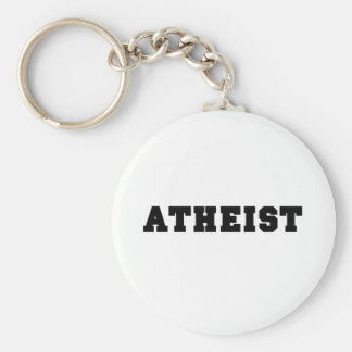 Atheist Collegiate Logo Key Ring