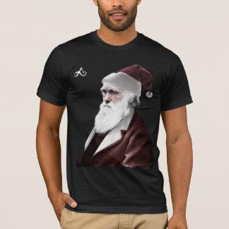 Atheist - Darwin Christmas as Santa Claus T-Shirt