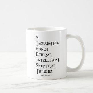 Atheist Defined Basic White Mug