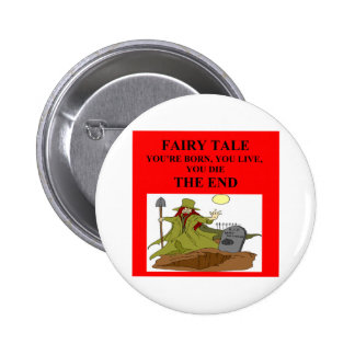atheist fairy tale 6 cm round badge