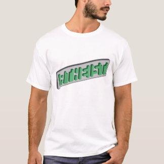 ATHEIST Green Optical Illusion T-Shirt