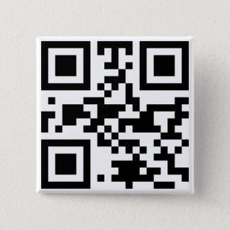 """""""ATHEIST"""" QR code 15 Cm Square Badge"""