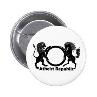 Atheist Republic 6 Cm Round Badge