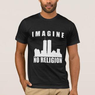 Atheist shrit. Imagine no religion T-Shirt