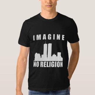 Atheist shrit. Imagine no religion Tees
