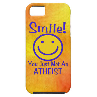 Atheist Smiley iPhone 5 Cover
