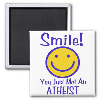 Atheist Smiley Fridge Magnets