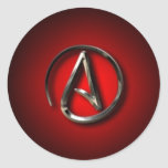 Atheist Symbol Stickers