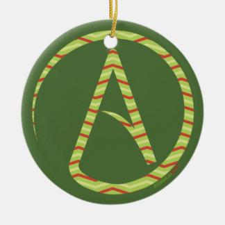 Atheist Symbol Tree Ornament