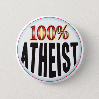 Atheist Tag 6 Cm Round Badge