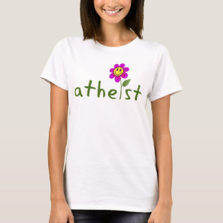 Atheist (with flower) Shirts