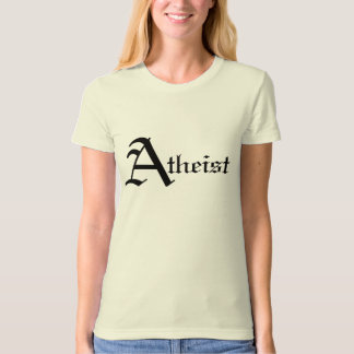 Atheist Women's Fitted T T-Shirt