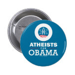 Atheists for Obama Pin
