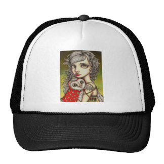 Athena and her Royal Companion Hat