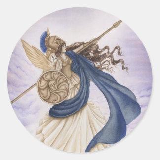 Athena Classic Round Sticker