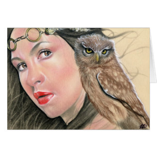 Athena Greek Goddess Card