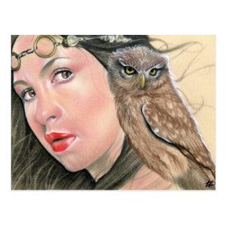Athena Greek Goddess postcard