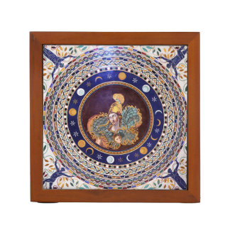Athena mosaic in the Vatican Museums Desk Organiser