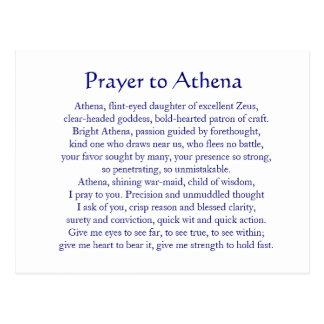 Athena Postcard
