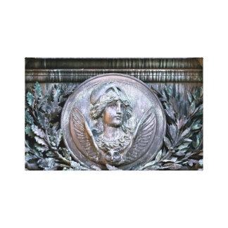 Athena Shield Canvas Print