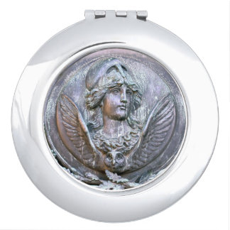 Athena Shield Compact Mirror