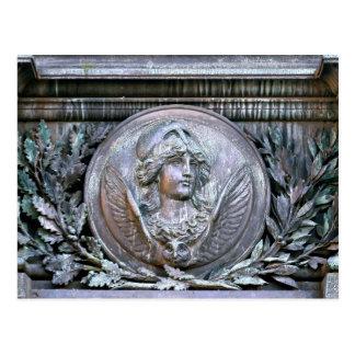 Athena Shield Postcard