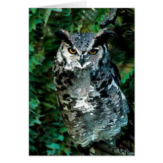 Athena's owl(card) card